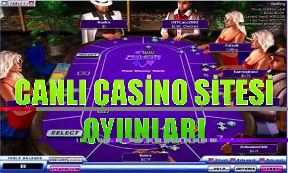 Canlı casino sitesi oyunları, Canlı casino siteleri, canlı casino oyunları oynanabilen siteler