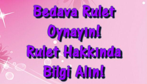 Rulet Oyna